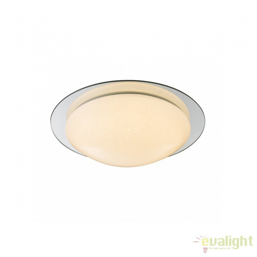 Plafoniera LED baie IP44 Step Up 12W 48377-12 GL, Plafoniere cu protectie pentru baie, Corpuri de iluminat, lustre, aplice, veioze, lampadare, plafoniere. Mobilier si decoratiuni, oglinzi, scaune, fotolii. Oferte speciale iluminat interior si exterior. Livram in toata tara.  a