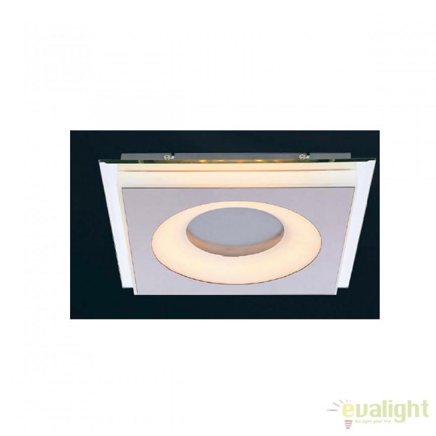 Aplica LED / Plafoniera design modern Bioko 6W 41113-1 GL, Aplice de perete LED, Corpuri de iluminat, lustre, aplice, veioze, lampadare, plafoniere. Mobilier si decoratiuni, oglinzi, scaune, fotolii. Oferte speciale iluminat interior si exterior. Livram in toata tara.  a
