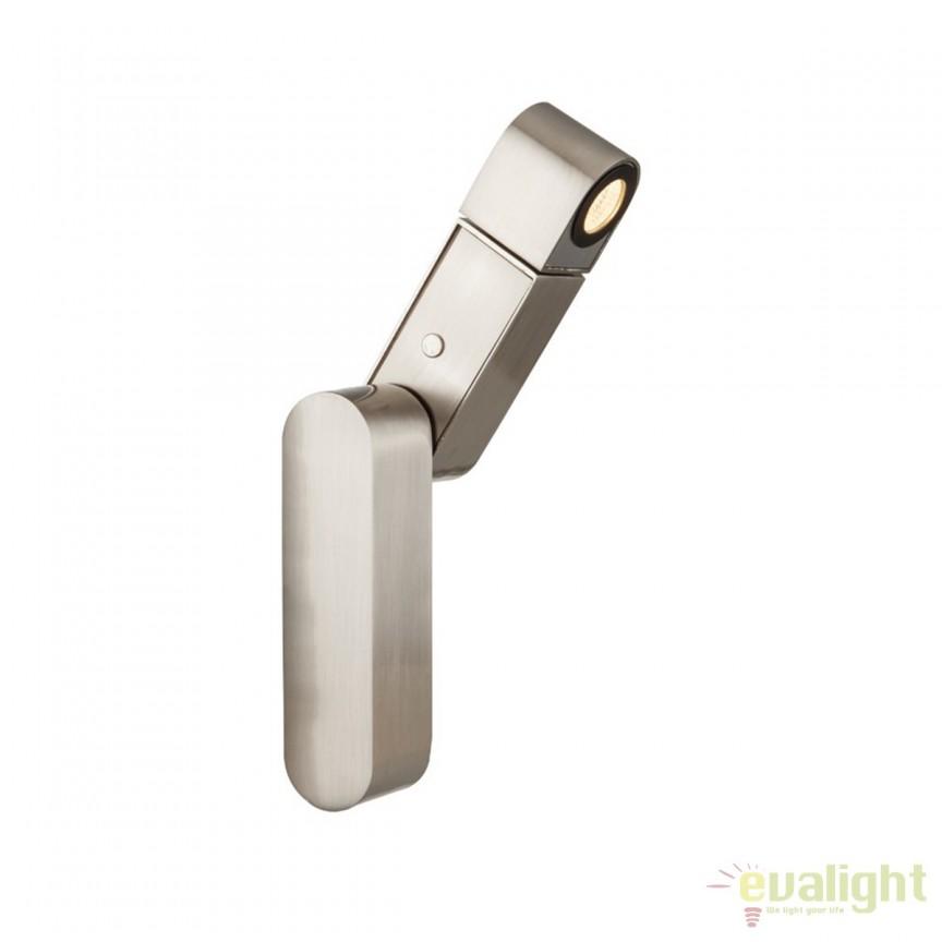 Aplica perete LED directionabila design modern Gufa 78311 GL, Aplice de perete LED, Corpuri de iluminat, lustre, aplice, veioze, lampadare, plafoniere. Mobilier si decoratiuni, oglinzi, scaune, fotolii. Oferte speciale iluminat interior si exterior. Livram in toata tara.  a