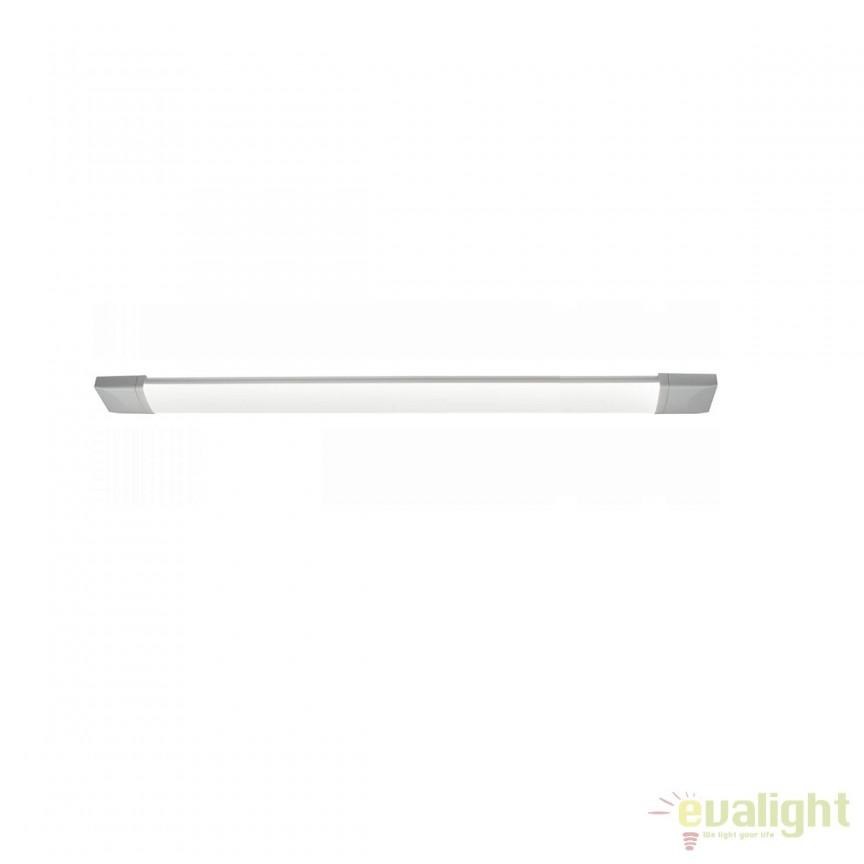 Aplica LED cu protectie umiditate IP65 Jon 18W 42436-18 GL, Aplice pentru baie, oglinda, tablou, Corpuri de iluminat, lustre, aplice, veioze, lampadare, plafoniere. Mobilier si decoratiuni, oglinzi, scaune, fotolii. Oferte speciale iluminat interior si exterior. Livram in toata tara.  a