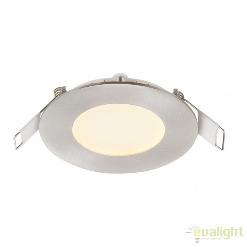 Spot LED incastrabil Ø8,5cm Alid 3W 12370N GL, ILUMINAT INTERIOR LED , ⭐ modele moderne de lustre LED cu telecomanda potrivite pentru living, bucatarie, birou, dormitor, baie, camera copii (bebe si tineret), casa scarii, hol. ✅Design de lux premium actual Top 2020! ❤️Promotii lampi LED❗ ➽ www.evalight.ro. Alege oferte la sisteme si corpuri de iluminat cu LED dimabile (becuri cu leduri si module LED integrate cu lumina calda, naturala sau rece), ieftine si de lux, calitate deosebita la cel mai bun pret. a