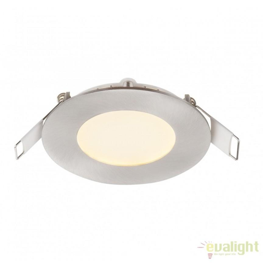 Spot LED incastrabil Ø12cm Alid 6W 12371N GL, Spoturi LED incastrate, aplicate, Corpuri de iluminat, lustre, aplice, veioze, lampadare, plafoniere. Mobilier si decoratiuni, oglinzi, scaune, fotolii. Oferte speciale iluminat interior si exterior. Livram in toata tara.  a