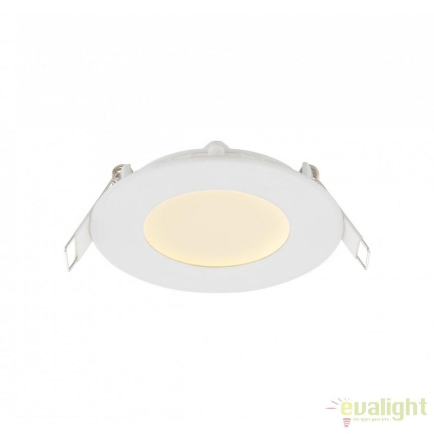 Spot LED incastrabil Ø8,5cm Alid II 3W 12370W GL, ILUMINAT INTERIOR LED , ⭐ modele moderne de lustre LED cu telecomanda potrivite pentru living, bucatarie, birou, dormitor, baie, camera copii (bebe si tineret), casa scarii, hol. ✅Design de lux premium actual Top 2020! ❤️Promotii lampi LED❗ ➽ www.evalight.ro. Alege oferte la sisteme si corpuri de iluminat cu LED dimabile (becuri cu leduri si module LED integrate cu lumina calda, naturala sau rece), ieftine si de lux, calitate deosebita la cel mai bun pret. a