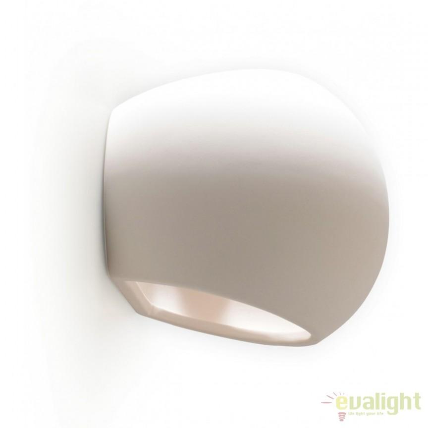 Aplica ambientala design minimalist Junipus 7856 GL, Aplice de perete moderne, Corpuri de iluminat, lustre, aplice, veioze, lampadare, plafoniere. Mobilier si decoratiuni, oglinzi, scaune, fotolii. Oferte speciale iluminat interior si exterior. Livram in toata tara.  a
