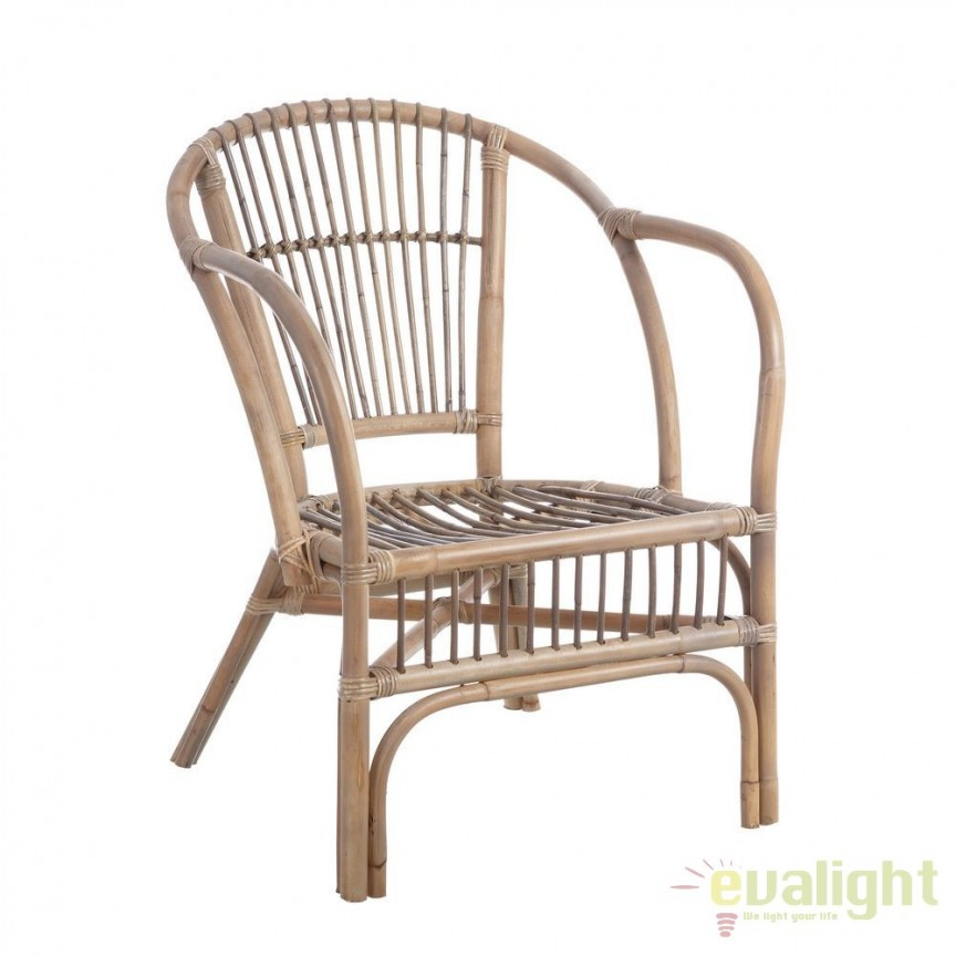 Set de 2 scaune design rustic Rattan II, maro SX-101206, Seturi scaune dining, scaune HoReCa, Corpuri de iluminat, lustre, aplice, veioze, lampadare, plafoniere. Mobilier si decoratiuni, oglinzi, scaune, fotolii. Oferte speciale iluminat interior si exterior. Livram in toata tara.  a