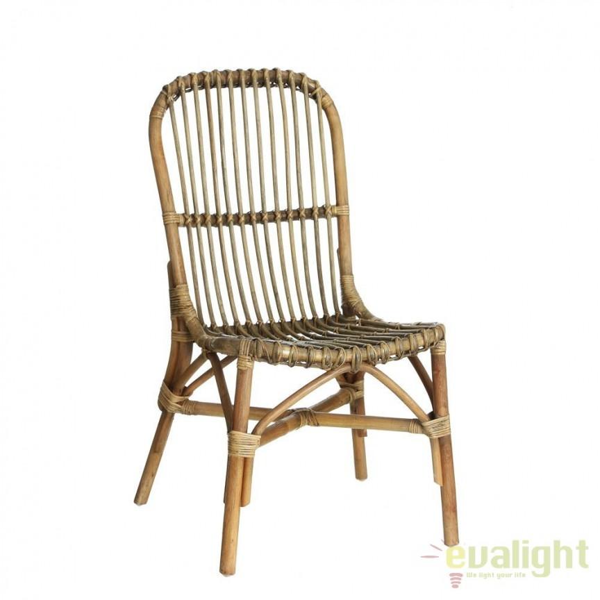 Set de 2 scaune design rustic Rattan SX-90455, Seturi scaune dining, scaune HoReCa, Corpuri de iluminat, lustre, aplice, veioze, lampadare, plafoniere. Mobilier si decoratiuni, oglinzi, scaune, fotolii. Oferte speciale iluminat interior si exterior. Livram in toata tara.  a