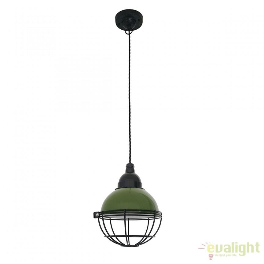 Pendul design industrial Claire verde 62803 , Promotii si Reduceri⭐ Oferte ✅Corpuri de iluminat ✅Lustre ✅Mobila ✅Decoratiuni de interior si exterior.⭕Pret redus online➜Lichidari de stoc❗ Magazin ➽ www.evalight.ro. a