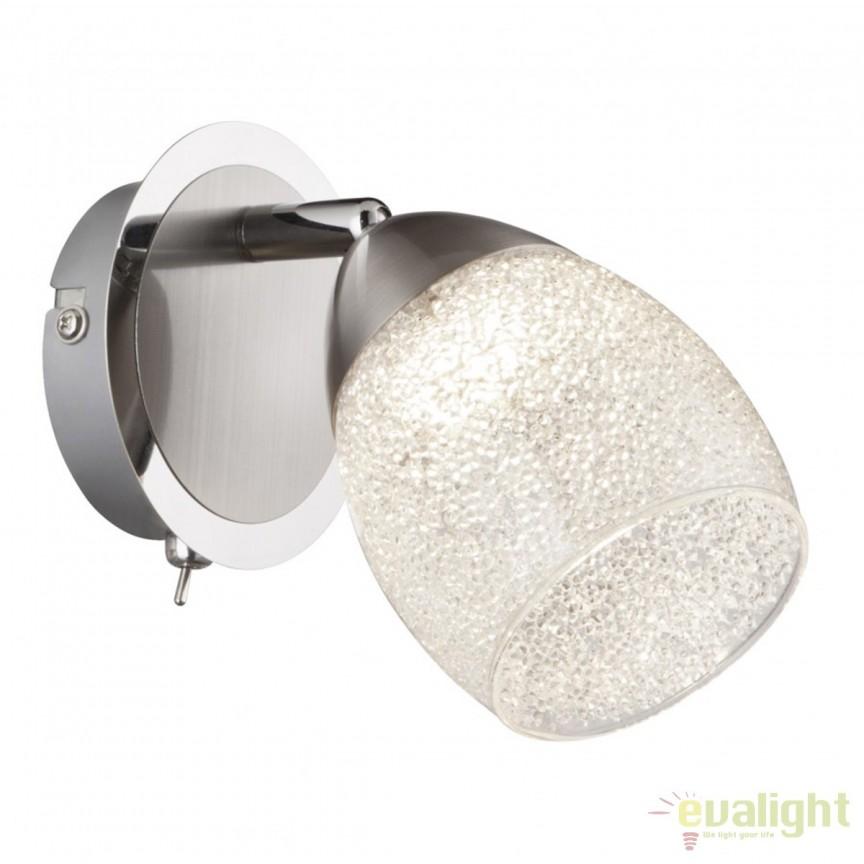 Aplica perete LED moderna Helena 56003-1 GL, Aplice de perete LED, Corpuri de iluminat, lustre, aplice, veioze, lampadare, plafoniere. Mobilier si decoratiuni, oglinzi, scaune, fotolii. Oferte speciale iluminat interior si exterior. Livram in toata tara.  a