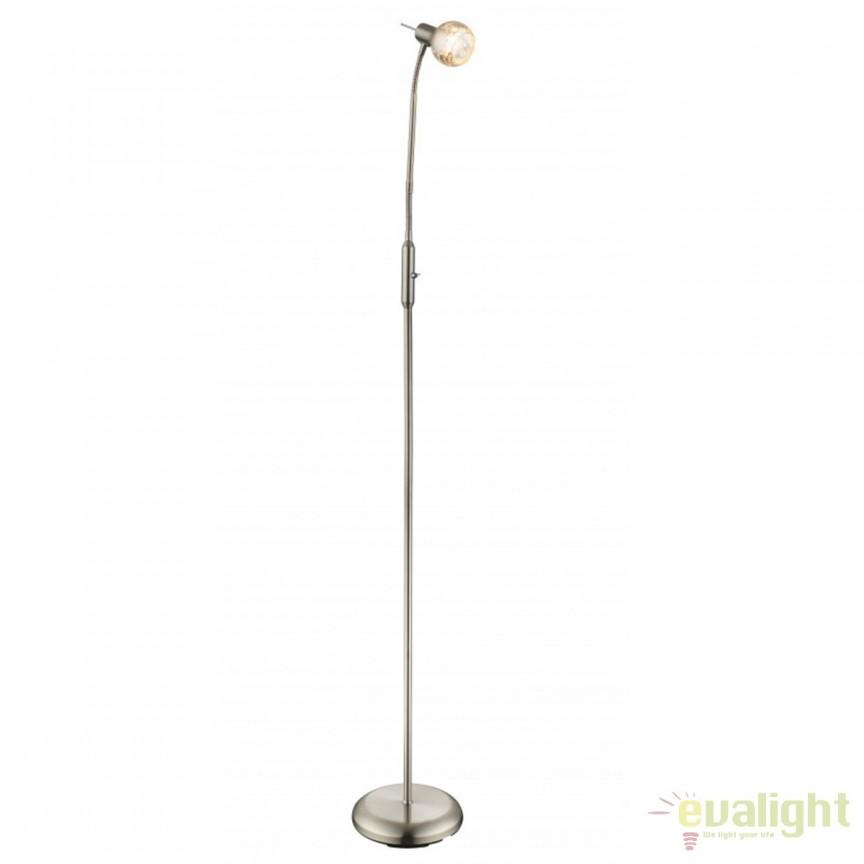 Lampadar / Lampa podea stil clasic Zacate 54840-1S GL, Lampadare clasice, Corpuri de iluminat, lustre, aplice, veioze, lampadare, plafoniere. Mobilier si decoratiuni, oglinzi, scaune, fotolii. Oferte speciale iluminat interior si exterior. Livram in toata tara.  a