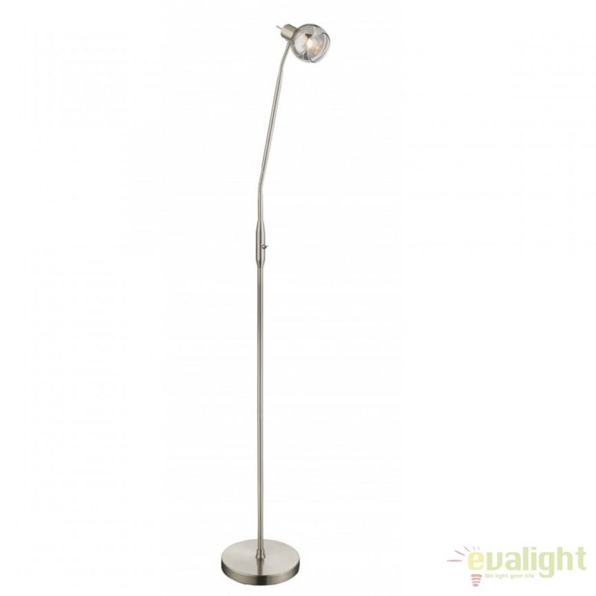 Lampadar LED / Lampa de podea design modern Roman 54348-1S GL, Veioze LED, Lampadare LED, Corpuri de iluminat, lustre, aplice, veioze, lampadare, plafoniere. Mobilier si decoratiuni, oglinzi, scaune, fotolii. Oferte speciale iluminat interior si exterior. Livram in toata tara.  a