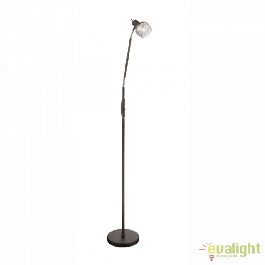Lampadar LED / Lampa de podea design modern Isla 54347-1S GL, Veioze LED, Lampadare LED, Corpuri de iluminat, lustre, aplice, veioze, lampadare, plafoniere. Mobilier si decoratiuni, oglinzi, scaune, fotolii. Oferte speciale iluminat interior si exterior. Livram in toata tara.  a