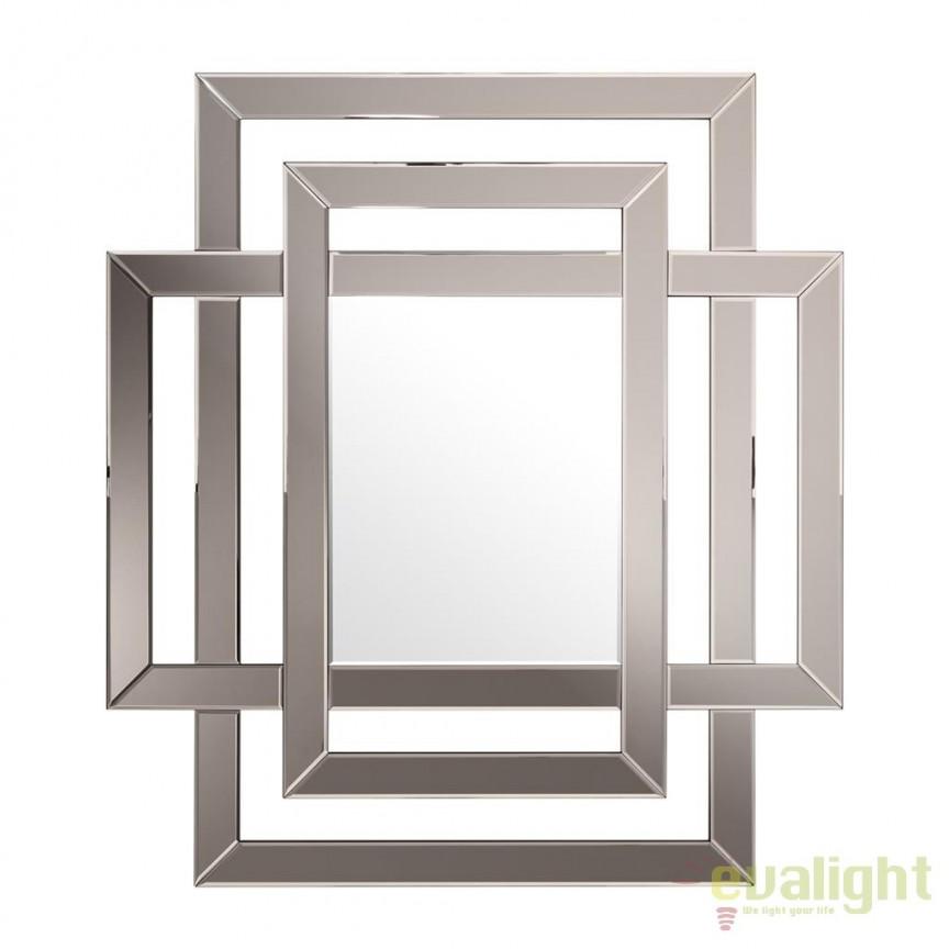 Oglinda decorativa eleganta Mortimer, bronz 111925 HZ, Oglinzi decorative, Corpuri de iluminat, lustre, aplice, veioze, lampadare, plafoniere. Mobilier si decoratiuni, oglinzi, scaune, fotolii. Oferte speciale iluminat interior si exterior. Livram in toata tara.  a