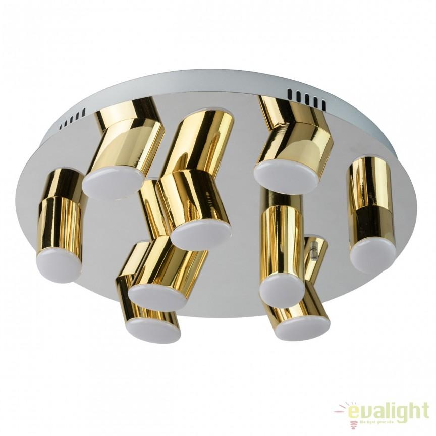 Lustra LED aplicata design modern Flensburg 36W 609013709 MW , Lustre LED, Pendule LED, Corpuri de iluminat, lustre, aplice, veioze, lampadare, plafoniere. Mobilier si decoratiuni, oglinzi, scaune, fotolii. Oferte speciale iluminat interior si exterior. Livram in toata tara.  a