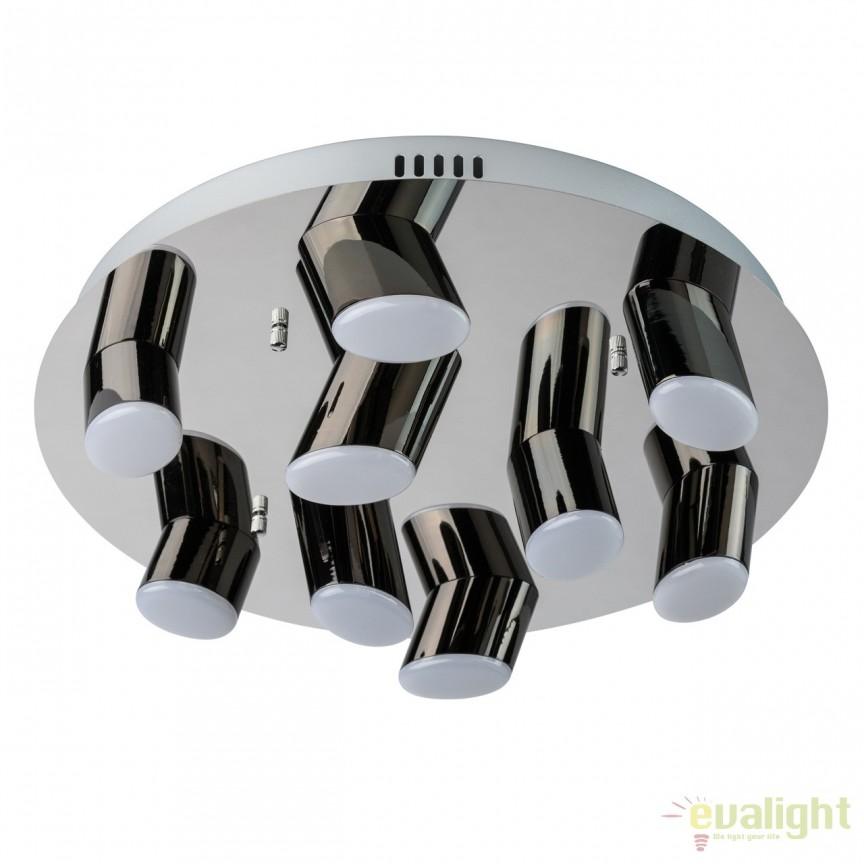 Lustra LED aplicata design modern Flensburg 36W 609013809 MW , Lustre LED, Pendule LED, Corpuri de iluminat, lustre, aplice, veioze, lampadare, plafoniere. Mobilier si decoratiuni, oglinzi, scaune, fotolii. Oferte speciale iluminat interior si exterior. Livram in toata tara.  a