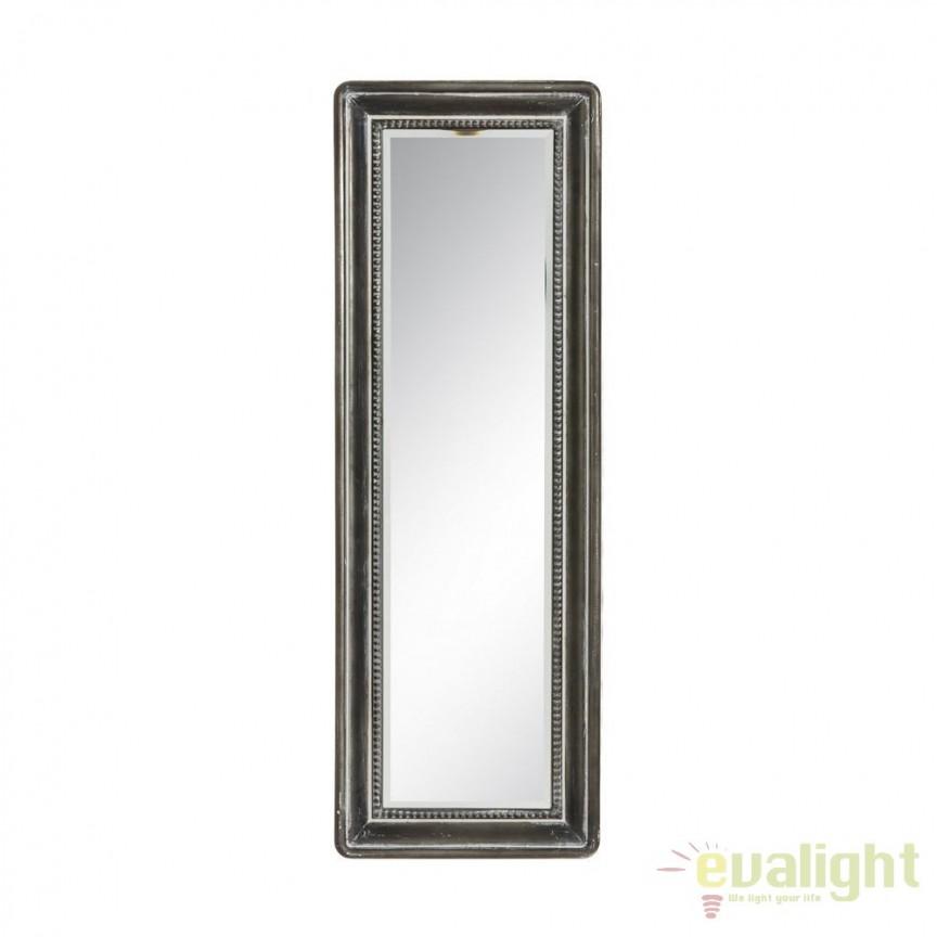 Oglinda design industrial vintage din metal Deany, 31x91cm SX-91080, Oglinzi decorative, Corpuri de iluminat, lustre, aplice, veioze, lampadare, plafoniere. Mobilier si decoratiuni, oglinzi, scaune, fotolii. Oferte speciale iluminat interior si exterior. Livram in toata tara.  a
