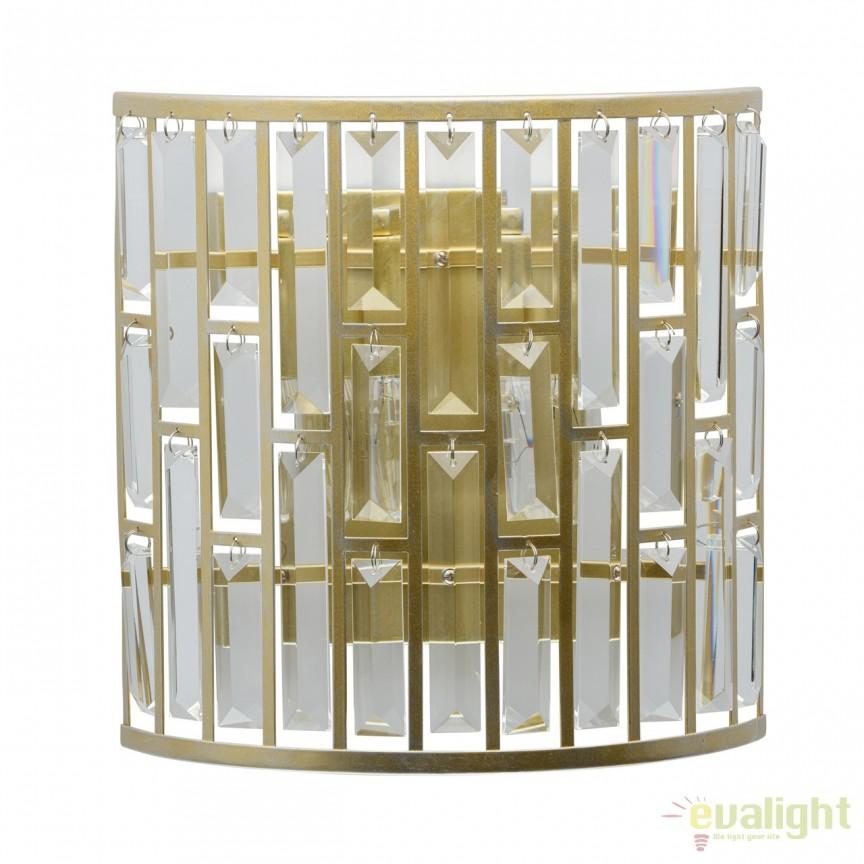 Aplica perete design elegant Monarh 121020102 MW , Aplice de perete clasice, Corpuri de iluminat, lustre, aplice, veioze, lampadare, plafoniere. Mobilier si decoratiuni, oglinzi, scaune, fotolii. Oferte speciale iluminat interior si exterior. Livram in toata tara.  a