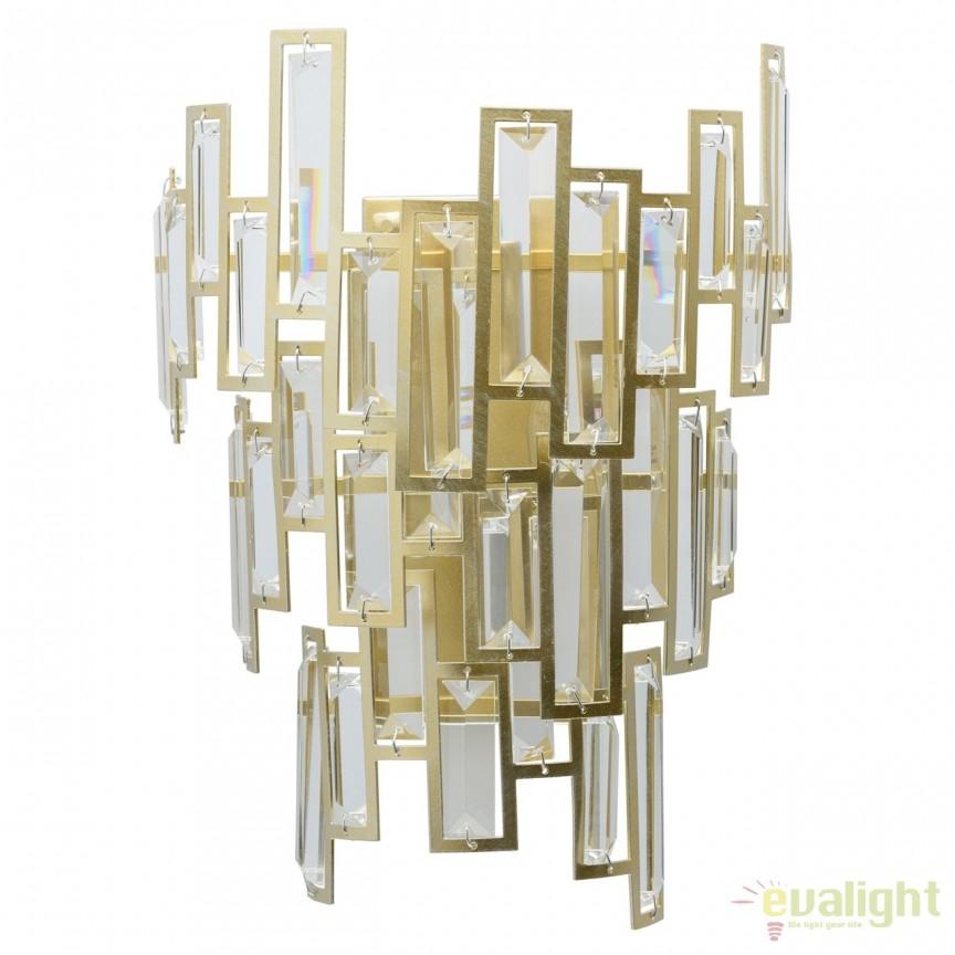 Aplica de perete design elegant Monarh 121020402 MW , Aplice de perete clasice, Corpuri de iluminat, lustre, aplice, veioze, lampadare, plafoniere. Mobilier si decoratiuni, oglinzi, scaune, fotolii. Oferte speciale iluminat interior si exterior. Livram in toata tara.  a