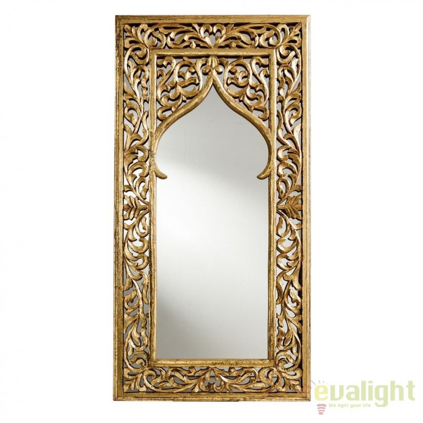 Oglinda design art deco Alita, 60x120cm SX-92418, Oglinzi decorative, Corpuri de iluminat, lustre, aplice, veioze, lampadare, plafoniere. Mobilier si decoratiuni, oglinzi, scaune, fotolii. Oferte speciale iluminat interior si exterior. Livram in toata tara.  a