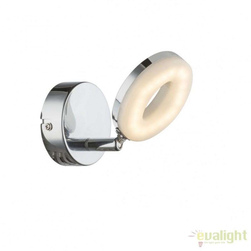 Aplica perete LED moderna Penelope 56121-1 GL, Aplice de perete LED, Corpuri de iluminat, lustre, aplice, veioze, lampadare, plafoniere. Mobilier si decoratiuni, oglinzi, scaune, fotolii. Oferte speciale iluminat interior si exterior. Livram in toata tara.  a