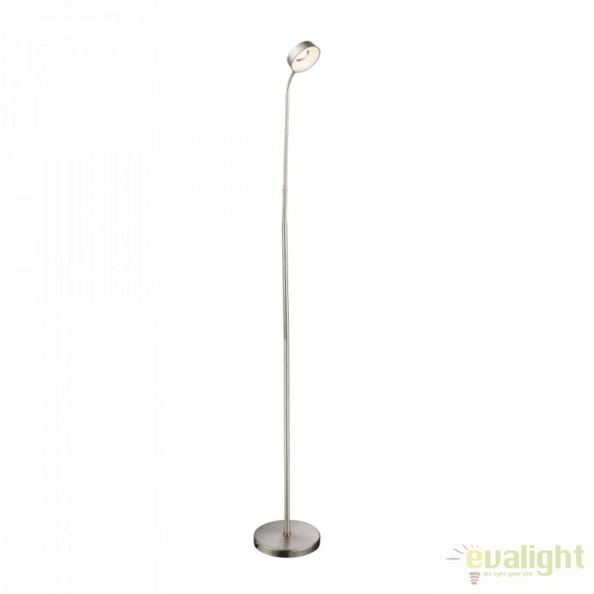 Lampadar LED / Lampa de podea moderna Abril 56132F GL, Veioze LED, Lampadare LED, Corpuri de iluminat, lustre, aplice, veioze, lampadare, plafoniere. Mobilier si decoratiuni, oglinzi, scaune, fotolii. Oferte speciale iluminat interior si exterior. Livram in toata tara.  a