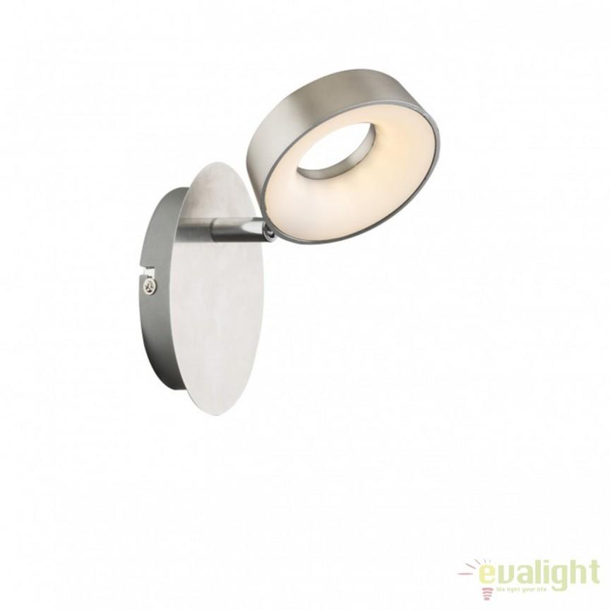 Aplica de perete LED moderna Abril 56132-1 GL, Aplice de perete LED, Corpuri de iluminat, lustre, aplice, veioze, lampadare, plafoniere. Mobilier si decoratiuni, oglinzi, scaune, fotolii. Oferte speciale iluminat interior si exterior. Livram in toata tara.  a