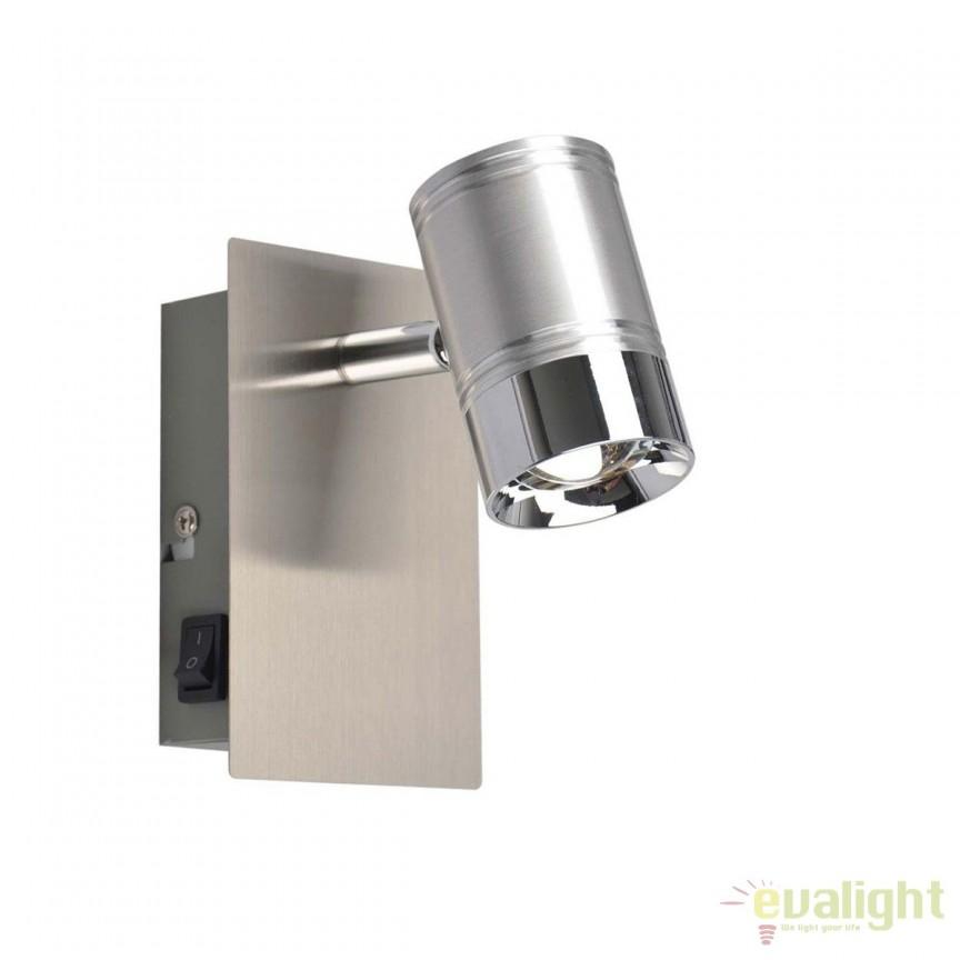 Aplica perete LED moderna Marja 56957-1 GL, ILUMINAT INTERIOR LED , Corpuri de iluminat, lustre, aplice, veioze, lampadare, plafoniere. Mobilier si decoratiuni, oglinzi, scaune, fotolii. Oferte speciale iluminat interior si exterior. Livram in toata tara.  a