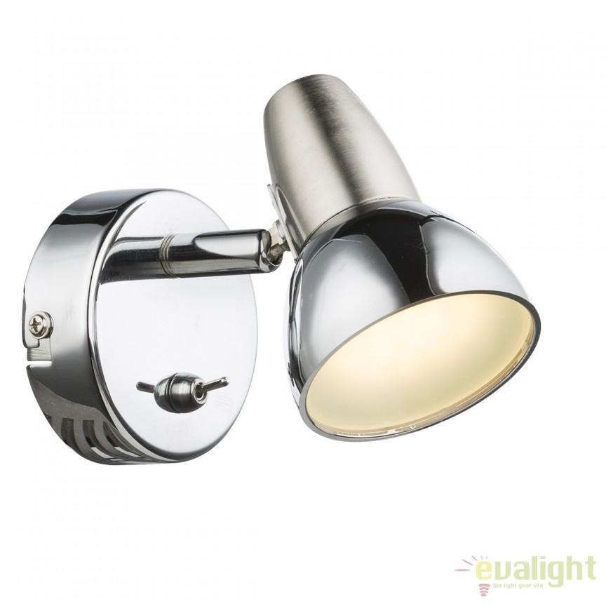 Aplica LED design modern Cappuccino 56116-1 GL, Aplice de perete LED, Corpuri de iluminat, lustre, aplice, veioze, lampadare, plafoniere. Mobilier si decoratiuni, oglinzi, scaune, fotolii. Oferte speciale iluminat interior si exterior. Livram in toata tara.  a