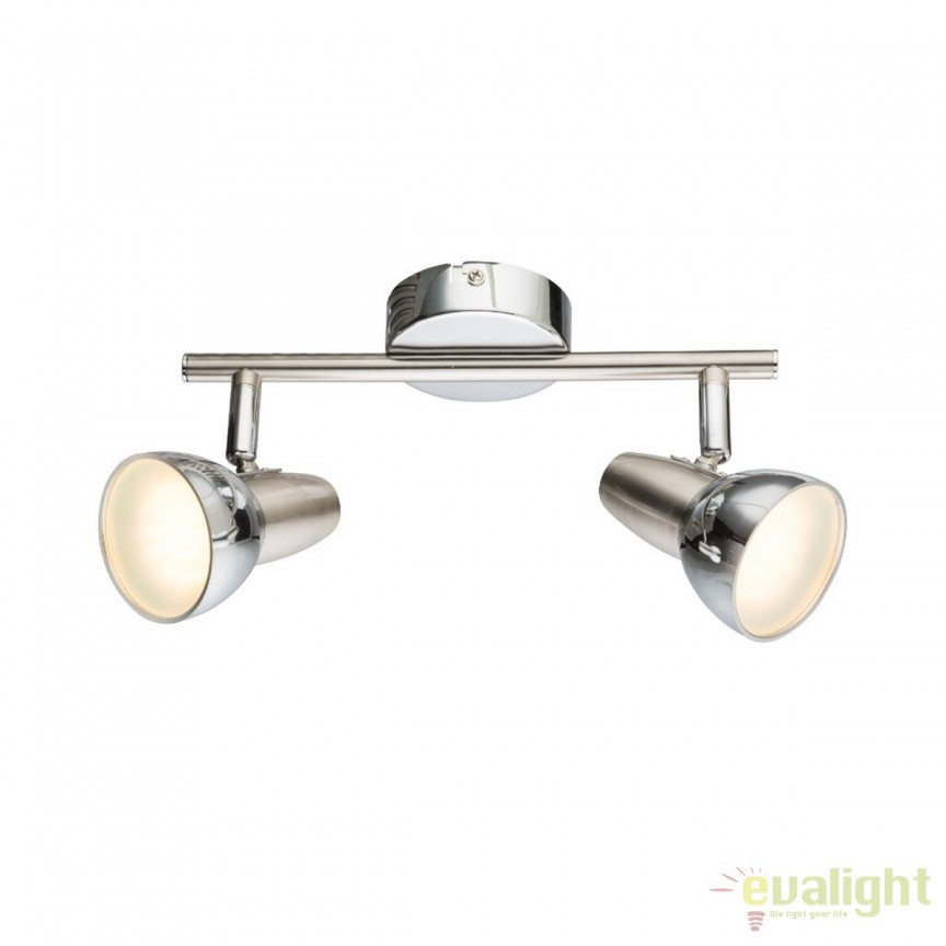 Plafoniera LED design modern Cappuccino 2L 56116-2 GL, ILUMINAT INTERIOR LED , Corpuri de iluminat, lustre, aplice, veioze, lampadare, plafoniere. Mobilier si decoratiuni, oglinzi, scaune, fotolii. Oferte speciale iluminat interior si exterior. Livram in toata tara.  a