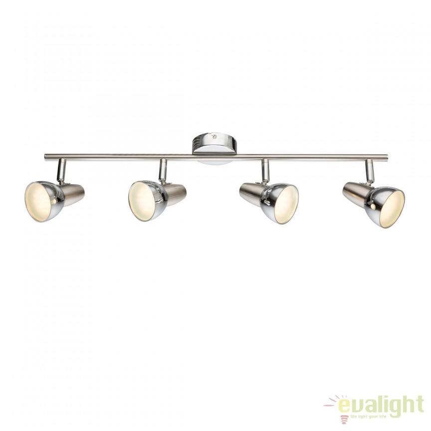 Plafoniera LED design modern Cappuccino 4L 56116-4 GL, ILUMINAT INTERIOR LED , Corpuri de iluminat, lustre, aplice, veioze, lampadare, plafoniere. Mobilier si decoratiuni, oglinzi, scaune, fotolii. Oferte speciale iluminat interior si exterior. Livram in toata tara.  a