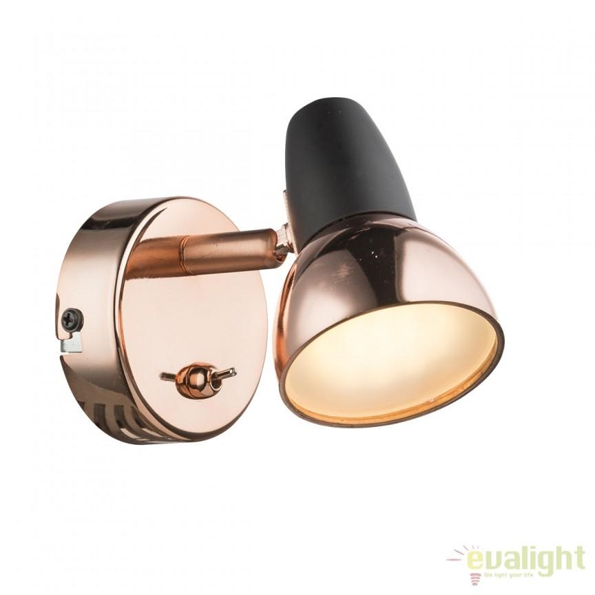Aplica LED design modern Tobi 56117-1 GL, Aplice de perete LED, Corpuri de iluminat, lustre, aplice, veioze, lampadare, plafoniere. Mobilier si decoratiuni, oglinzi, scaune, fotolii. Oferte speciale iluminat interior si exterior. Livram in toata tara.  a