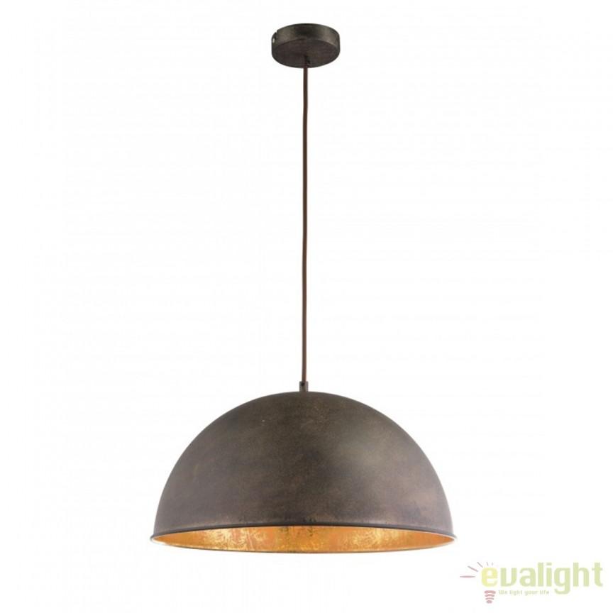 Pendul design industrial Style XIRENA I 58307H GL, NOU ! Lustre VINTAGE, RETRO, INDUSTRIA Style,  a
