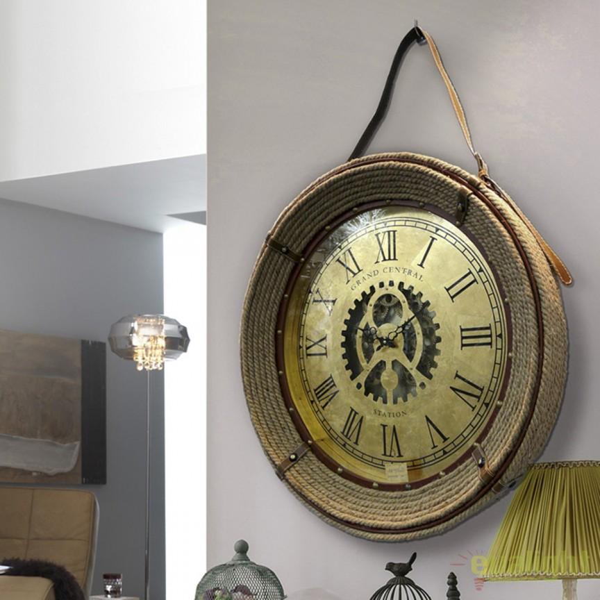 Ceas decorativ design vintage Ø76 Brighton SV-571520, Ceasuri de perete decorative, Corpuri de iluminat, lustre, aplice, veioze, lampadare, plafoniere. Mobilier si decoratiuni, oglinzi, scaune, fotolii. Oferte speciale iluminat interior si exterior. Livram in toata tara.  a
