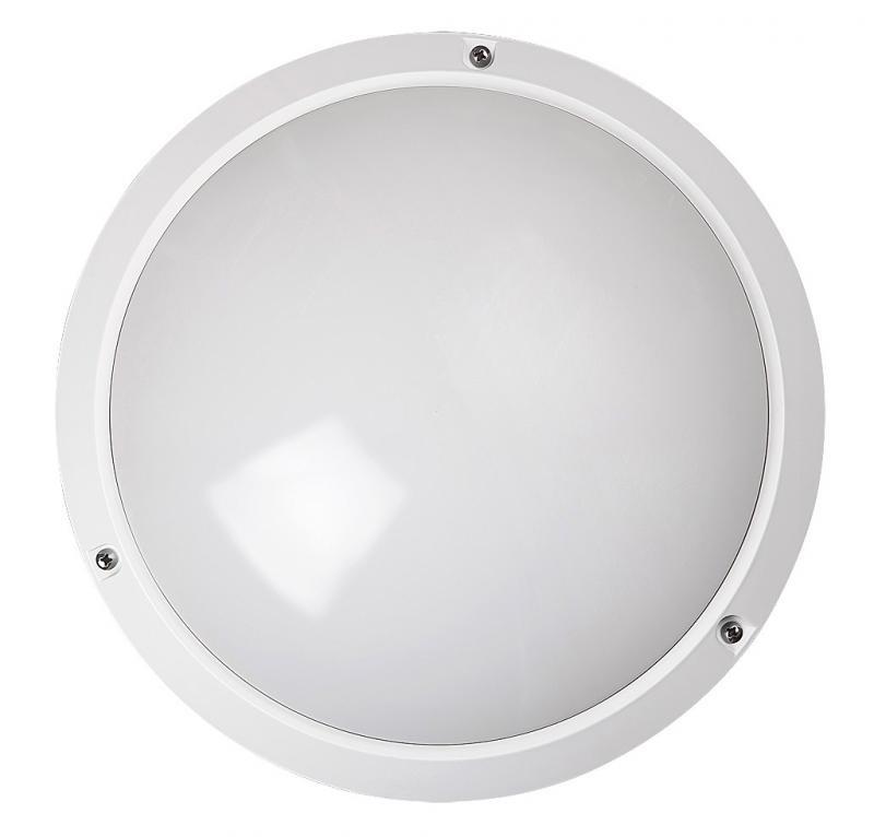 Aplica de perete, Plafonier exterior IP54, diam.27cm, alb Lentil 5810 RX, Plafoniere de exterior, Corpuri de iluminat, lustre, aplice, veioze, lampadare, plafoniere. Mobilier si decoratiuni, oglinzi, scaune, fotolii. Oferte speciale iluminat interior si exterior. Livram in toata tara.  a