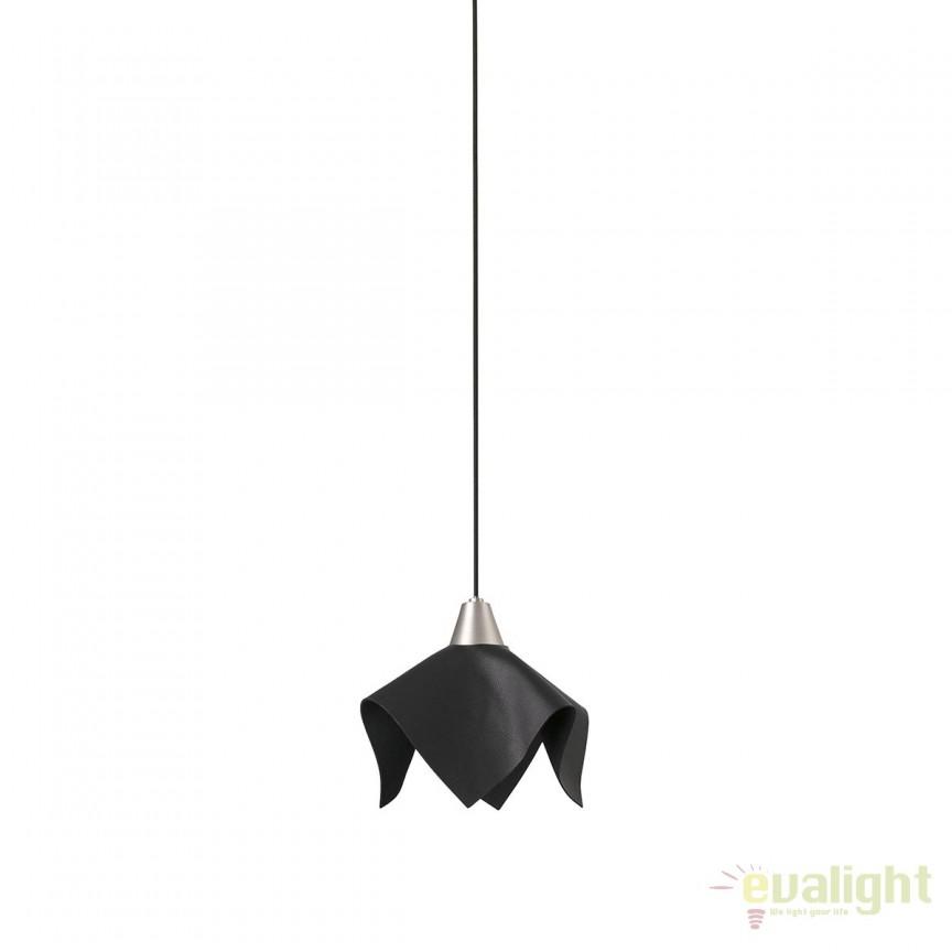 Pendul LED stil modern FAUNA negru 66234 , Promotii si Reduceri⭐ Oferte ✅Corpuri de iluminat ✅Lustre ✅Mobila ✅Decoratiuni de interior si exterior.⭕Pret redus online➜Lichidari de stoc❗ Magazin ➽ www.evalight.ro. a