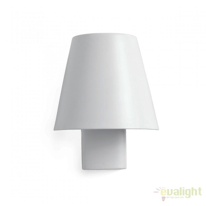 Aplica perete LED stil modern minimalist LE PETIT alba 62161, Aplice de perete LED, Corpuri de iluminat, lustre, aplice, veioze, lampadare, plafoniere. Mobilier si decoratiuni, oglinzi, scaune, fotolii. Oferte speciale iluminat interior si exterior. Livram in toata tara.  a