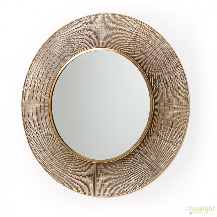 Oglinda metalica decorativa PLAX alama, 80cm AA1451R53 JG, Oglinzi decorative , moderne✅ decoratiuni de perete cu oglinda⭐ modele mari si rotunde pentru Hol, Living, Dormitor si Baie.❤️Promotii la oglinzi cu design decorativ❗ Intra si vezi poze ✚ pret ➽ www.evalight.ro. ➽ sursa ta de inspiratie online❗ Alege oglinzi deosebite Art Deco de lux pentru decorare casa, fabricate de branduri renumite. Aici gasesti cele mai frumoase si rafinate obiecte de decor cu stil contemporan unicat, oglinzi elegante cu suport de prindere pe perete, de masa sau de podea potrivite pt dresing, cu rama din metal cu aspect antichizat sau lemn de culoare aurie, sticla argintie in diferite forme: oglinzi in forma de soare, hexagonale tip fagure hexagon, ovale, patrate mici, rectangulara sau dreptunghiulara, design original exclusivist: industrial style, retro, vintage (produse manual handmade), scandinav nordic, clasic, baroc, glamour, romantic, rustic, minimalist. Tendinte si idei actuale de designer pentru amenajari interioare premium Top 2020❗ Oferte si reduceri speciale cu vanzare rapida din stoc, oglinzi de calitate la cel mai bun pret. a