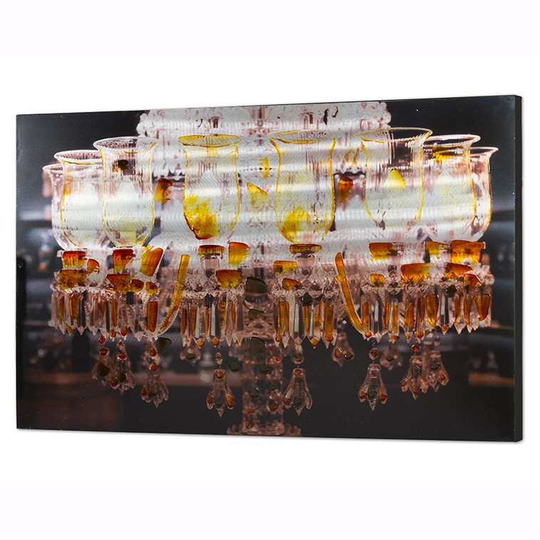 Tablou decorativ, pictura realizata pe aluminiu, Lampara 120x80cm 16283 SAP, Tablouri decorative, Corpuri de iluminat, lustre, aplice, veioze, lampadare, plafoniere. Mobilier si decoratiuni, oglinzi, scaune, fotolii. Oferte speciale iluminat interior si exterior. Livram in toata tara.  a