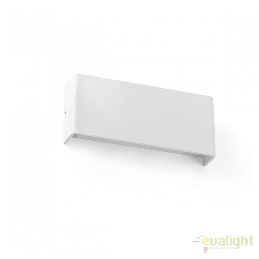 Aplica perete LED moderna cu lumina ambientala up and down NASH 8W 62819 , Aplice de perete LED, moderne⭐ modele potrivite pentru dormitor, living, baie, hol, bucatarie.✅DeSiGn LED decorativ 2021!❤️Promotii lampi❗ ➽ www.evalight.ro. Alege oferte NOI corpuri de iluminat cu LED pt interior, elegante din cristal (becuri cu leduri si module LED integrate cu lumina calda, naturala sau rece), ieftine si de lux, calitate deosebita la cel mai bun pret.  a