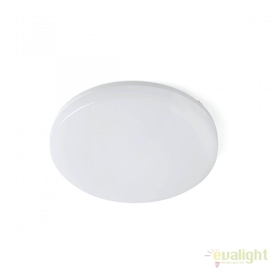 Plafoniera LED dimabila pentru BAIE IP54 ZON Ø28cm 63291 Faro Barcelona , Plafoniere cu protectie pentru baie, Corpuri de iluminat, lustre, aplice, veioze, lampadare, plafoniere. Mobilier si decoratiuni, oglinzi, scaune, fotolii. Oferte speciale iluminat interior si exterior. Livram in toata tara.  a