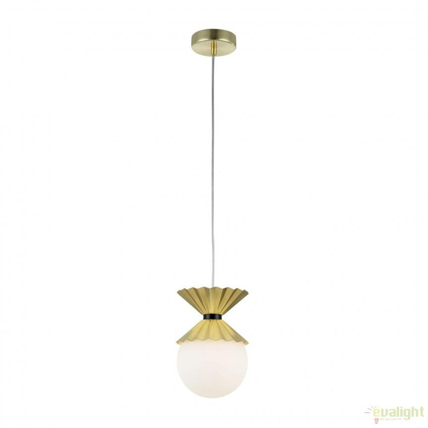 Pendul modern Ovation, alama MYMOD264-PL-01-BS, Promotii si Reduceri⭐ Oferte ✅Corpuri de iluminat ✅Lustre ✅Mobila ✅Decoratiuni de interior si exterior.⭕Pret redus online➜Lichidari de stoc❗ Magazin ➽ www.evalight.ro. a