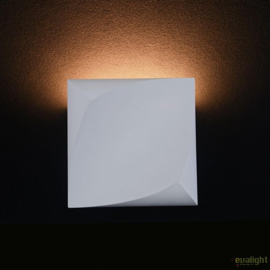 Aplica din ipsos, lumina ambientala LED Pero 12x12cm, MYC198-WL-01-3W-W, Candelabre si Lustre moderne elegante⭐ modele clasice de lux pentru living, bucatarie si dormitor.✅ DeSiGn actual Top 2020!❤️Promotii lampi❗ ➽ www.evalight.ro. Oferte corpuri de iluminat suspendate pt camere de interior (înalte), suspensii (lungi) de tip lustre si candelabre, pendule decorative stil modern, clasic, rustic, baroc, scandinav, retro sau vintage, aplicate pe perete sau de tavan, cu cristale, abajur din material textil, lemn, metal, sticla, bec Edison sau LED, ieftine de calitate deosebita la cel mai bun pret. a