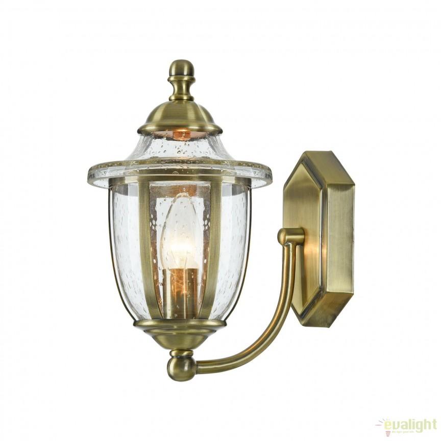 Aplica clasica Zeil, bronz MYH356-WL-01-BZ , Aplice de perete, Corpuri de iluminat, lustre, aplice, veioze, lampadare, plafoniere. Mobilier si decoratiuni, oglinzi, scaune, fotolii. Oferte speciale iluminat interior si exterior. Livram in toata tara.  a