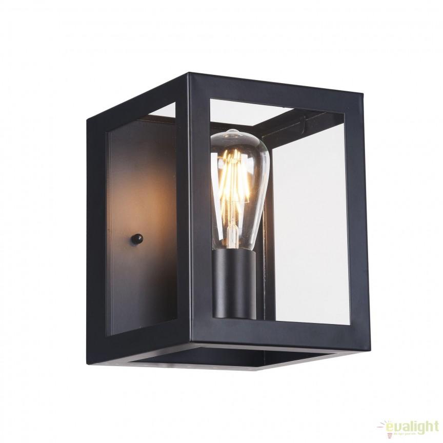 Aplica design industrial Delphi MYT354-WL-01-B, Aplice de perete, Corpuri de iluminat, lustre, aplice, veioze, lampadare, plafoniere. Mobilier si decoratiuni, oglinzi, scaune, fotolii. Oferte speciale iluminat interior si exterior. Livram in toata tara.  a