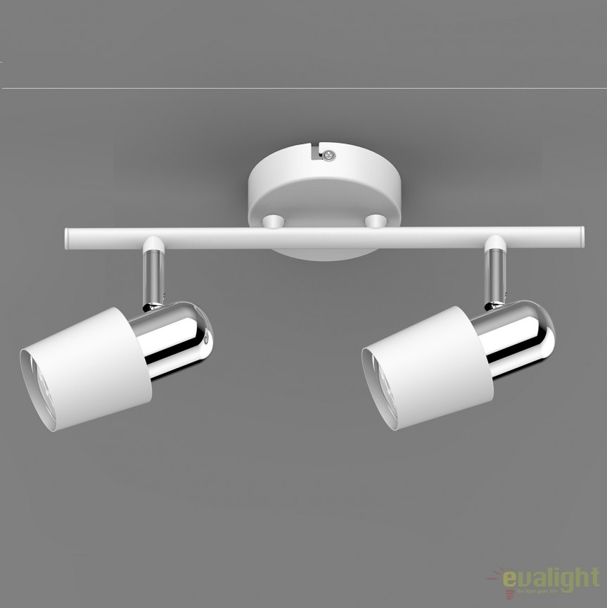 Aplica perete sau tavan cu 2 spoturi ALEX TK99515-2W ZL, Spoturi - iluminat - cu 2 spoturi, Corpuri de iluminat, lustre, aplice, veioze, lampadare, plafoniere. Mobilier si decoratiuni, oglinzi, scaune, fotolii. Oferte speciale iluminat interior si exterior. Livram in toata tara.  a