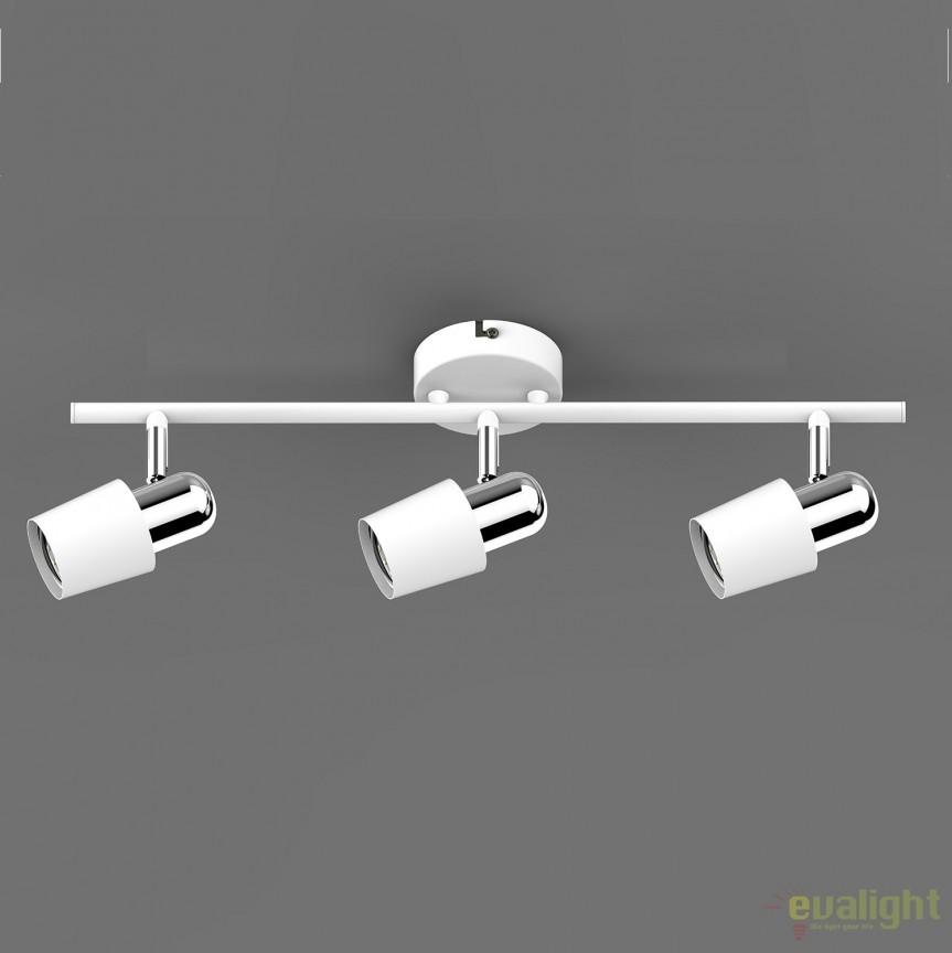 Aplica perete sau tavan cu 3 spoturi ALEX TK99515-3W ZL, Magazin, Corpuri de iluminat, lustre, aplice, veioze, lampadare, plafoniere. Mobilier si decoratiuni, oglinzi, scaune, fotolii. Oferte speciale iluminat interior si exterior. Livram in toata tara.  a