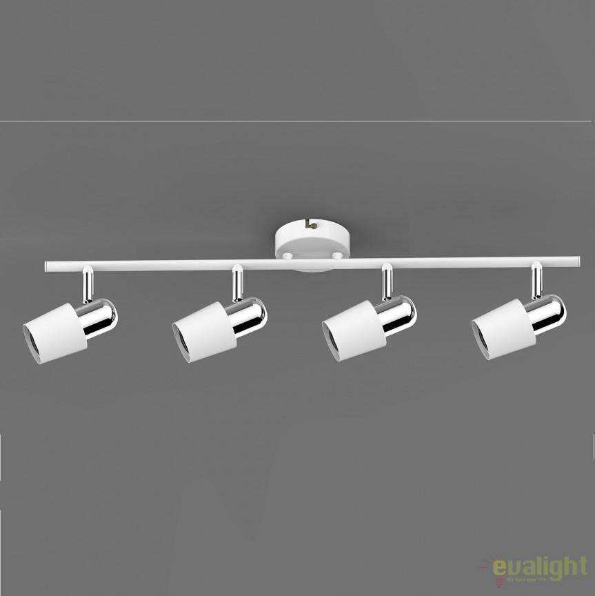 Aplica perete sau tavan cu 4 spoturi ALEX TK99515-4W ZL, Magazin, Corpuri de iluminat, lustre, aplice, veioze, lampadare, plafoniere. Mobilier si decoratiuni, oglinzi, scaune, fotolii. Oferte speciale iluminat interior si exterior. Livram in toata tara.  a