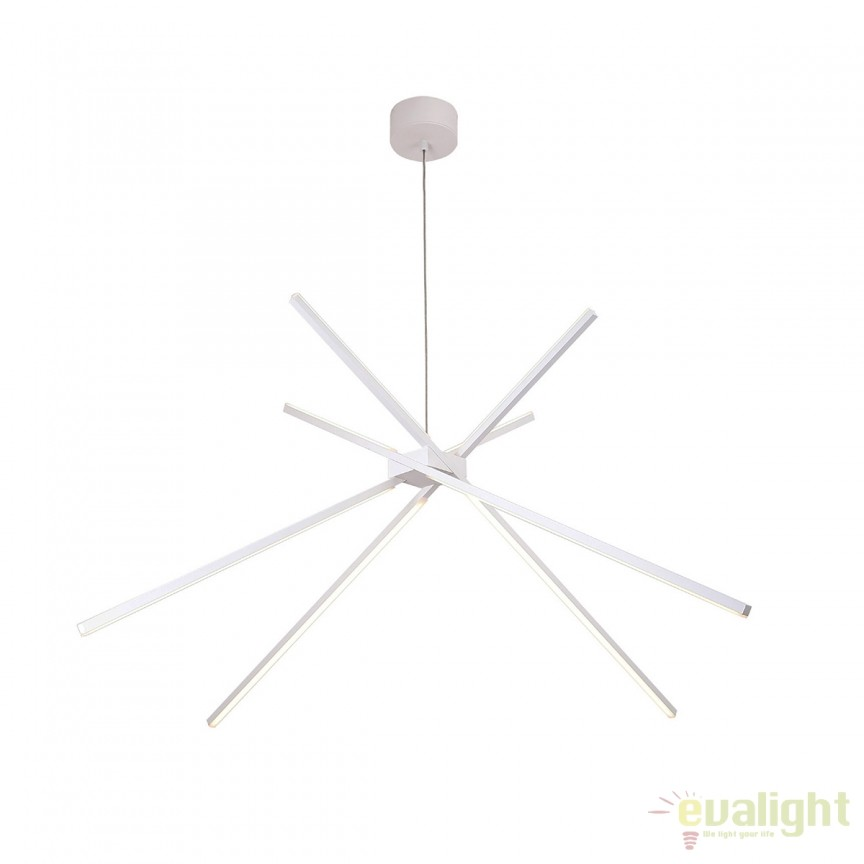 Lustra LED design modern SPIDER P0270 MX, Magazin, Corpuri de iluminat, lustre, aplice, veioze, lampadare, plafoniere. Mobilier si decoratiuni, oglinzi, scaune, fotolii. Oferte speciale iluminat interior si exterior. Livram in toata tara.  a