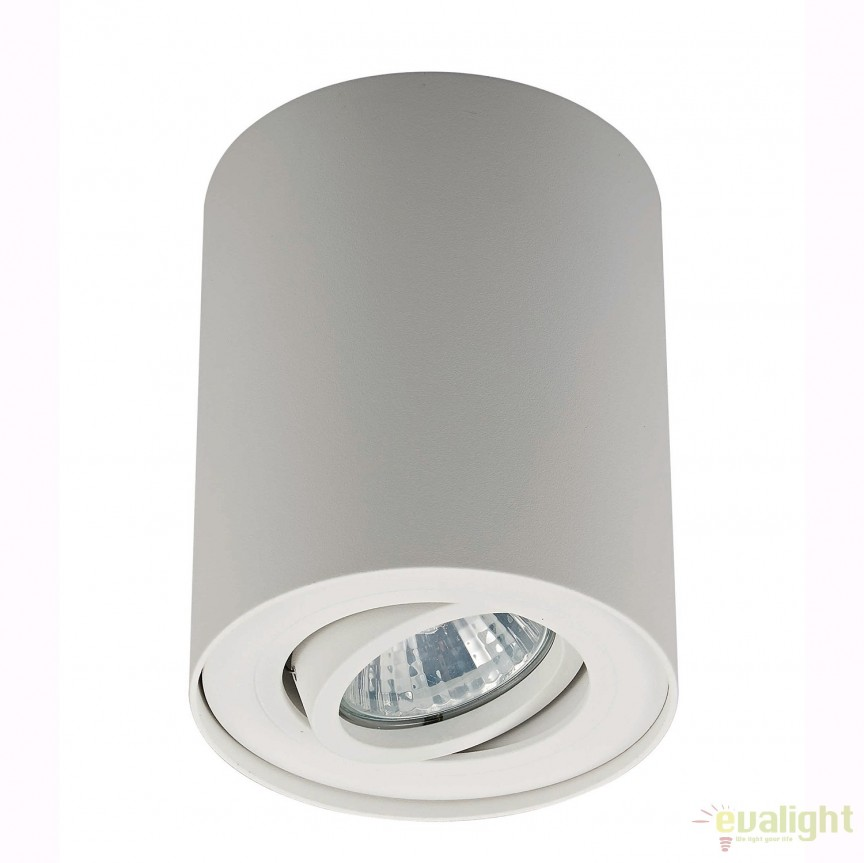 Spot aplicat RONDOC SL 1, alb 20038-WH ZL, Spoturi aplicate - tavan / perete, Corpuri de iluminat, lustre, aplice, veioze, lampadare, plafoniere. Mobilier si decoratiuni, oglinzi, scaune, fotolii. Oferte speciale iluminat interior si exterior. Livram in toata tara.  a