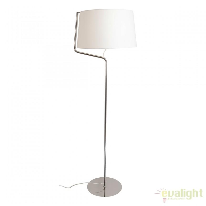 Lampadar / Lampa podea design modern CHICAGO crom F0037 MX, Magazin, Corpuri de iluminat, lustre, aplice, veioze, lampadare, plafoniere. Mobilier si decoratiuni, oglinzi, scaune, fotolii. Oferte speciale iluminat interior si exterior. Livram in toata tara.  a
