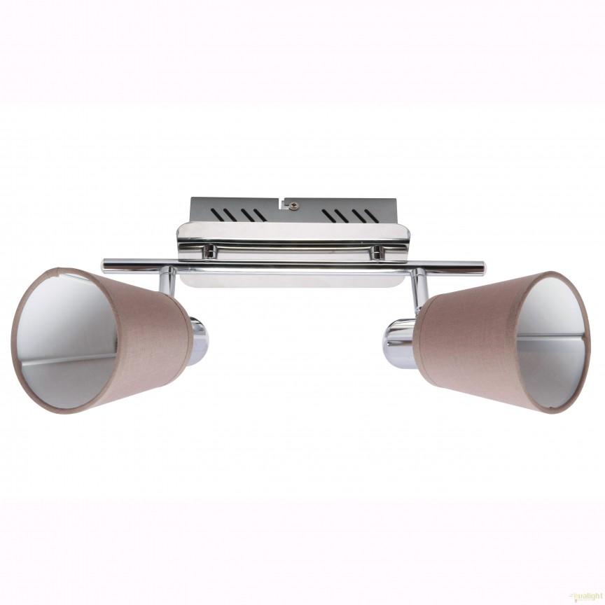 Aplica perete sau tavan cu 2 spoturi GALI CK170520-2 ZL, Spoturi - iluminat - cu 2 spoturi, Corpuri de iluminat, lustre, aplice, veioze, lampadare, plafoniere. Mobilier si decoratiuni, oglinzi, scaune, fotolii. Oferte speciale iluminat interior si exterior. Livram in toata tara.  a